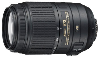 Nikkor DX AF-S 55-300 f/4.5-5.6G ED VR